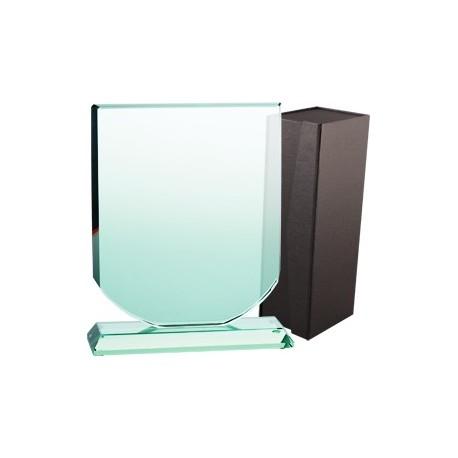 Trofeum szklane z etui G001