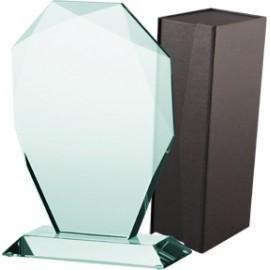 Trofeum szklane z etui G007