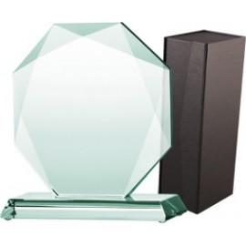 Trofeum szklane z etui G020