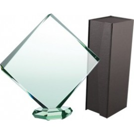 Trofeum szklane z etui G022