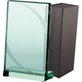 Trofeum szklane z etui G023