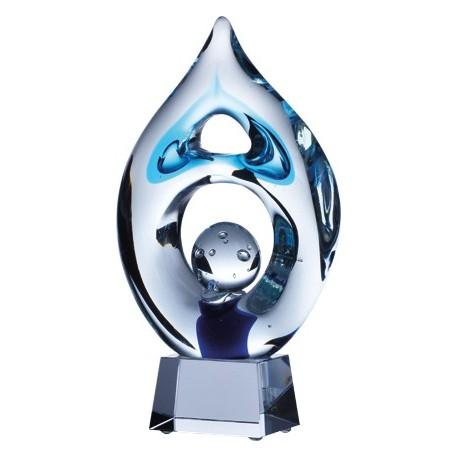 Trofeum szklane z etui GS116