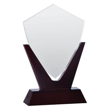 Trofeum szklano-drewniane GW200