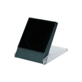 Etui plastikowe na medal 50mm - czarne H3 Czarne