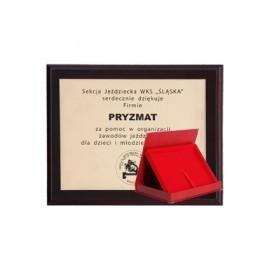 Dyplom MDF z laminatem grawerowanym HG15