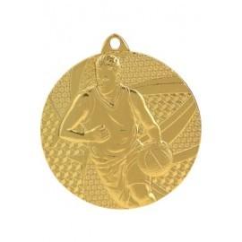 Medal koszykówka 50 mm / 2,5 mm MMC6850