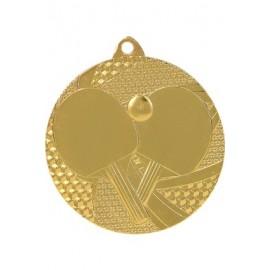 Medal tenis stołowy 50 mm / 2,5 mm MMC7750