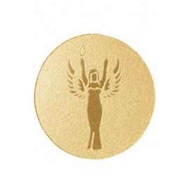 Emblemat samoprzylepny - złoty - Wiktoria PS1A41G