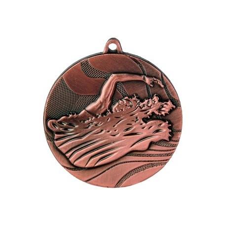 Medal pływanie 50 mm / 3 mm MMC2750