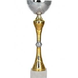 Puchar srebrno-złoty 8223