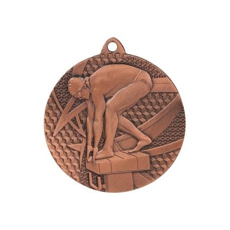 Medal pływanie 50 mm / 2,5 mm MMC7450