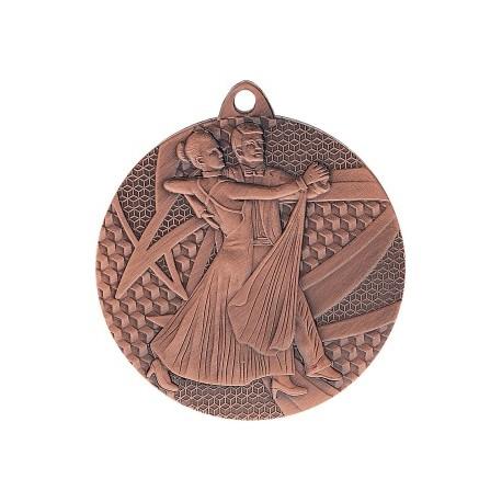 Medal taniec 50 mm / 2,5 mm MMC7850