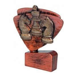 Figurka odlewana szachy brązowa RFEL5029