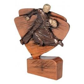 Figurka odlewana - taniec brązowa RFEL5034