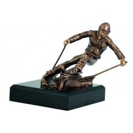 Figurka odlewana - sporty zimowe - narty RFST2018
