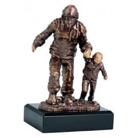 Figurka odlewana - strażactwo RFST2020