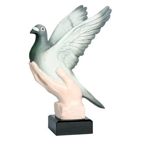 Figurka odlewana - gołębiarstwo RFST2045