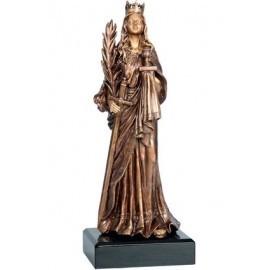 Figurka odlewana - górnictwo - św. Barbara RFST2058