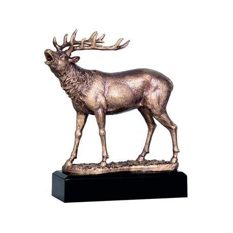 Figurka odlewana - myślistwo - jeleń RFST2067