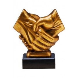 Figurka odlewana - ogólna - uścisk dłoni RFST2089