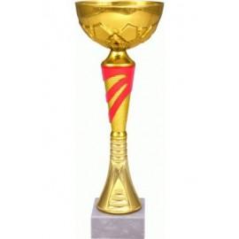 Puchar złoto-czerwony 9045