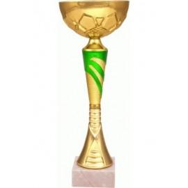 Puchar złoto-zielony 9046
