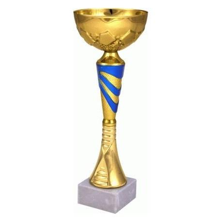 Puchar złoto-niebieski 9047