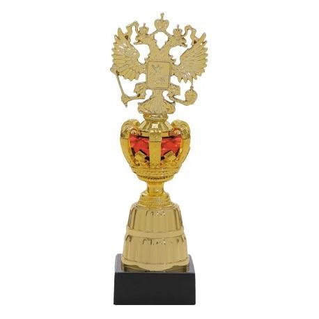 Postument złoto-czerwony - 15 cm S580A