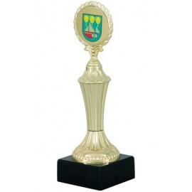 Ozdobne trofeum plastikowe - 24 cm STAND3