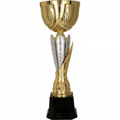 Puchar metalowy złoto-srebrny 4165