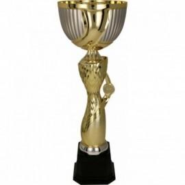 Puchar metalowy złoto-srebrny 4166