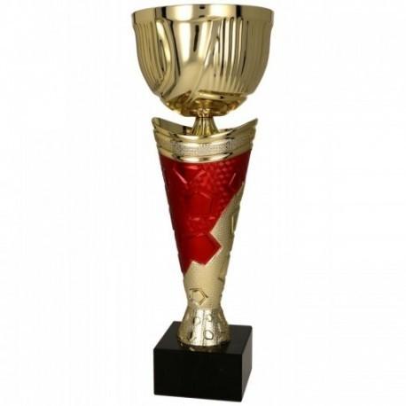 Puchar metalowy złoto-czerwony 4170