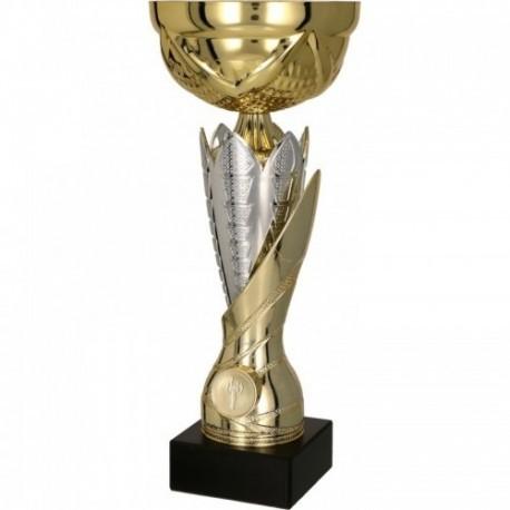 Puchar metalowy złoto-srebrny 7182