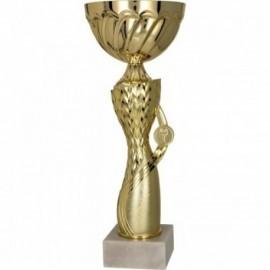 Puchar metalowy złoty 7183