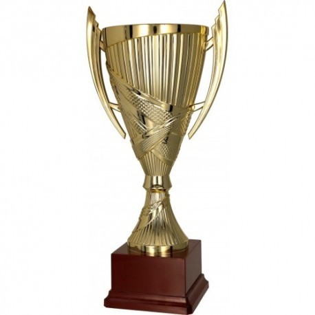 Puchar plastikowy złoty 7179