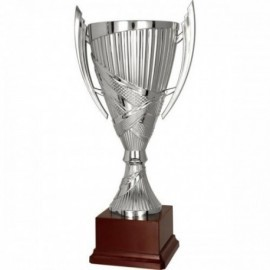 Puchar plastikowy srebrny 7180