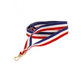 Wstążka do medalu - 22 mm i 11mm V-BL/W/R
