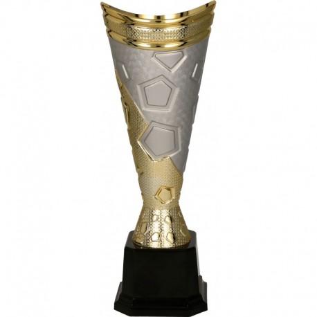 Puchar plastikowy złoto-srebrny 7188