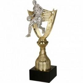 Puchar plastikowy złoty 8287