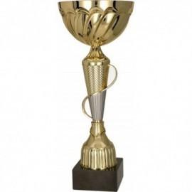 Puchar metalowy złoto-srebrny 8291