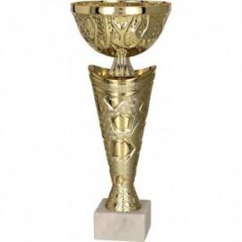 Puchar metalowy złoto-srebrny 8292