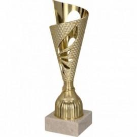 Puchar plastikowy złoty 8296