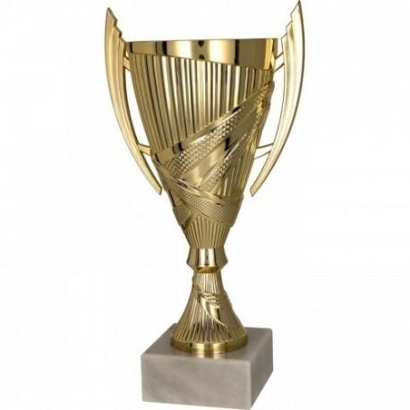 Puchar plastikowy złoty 8300