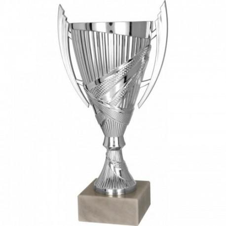 Puchar plastikowy srebrny 8301