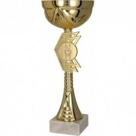 Puchar metalowy złoty 9073