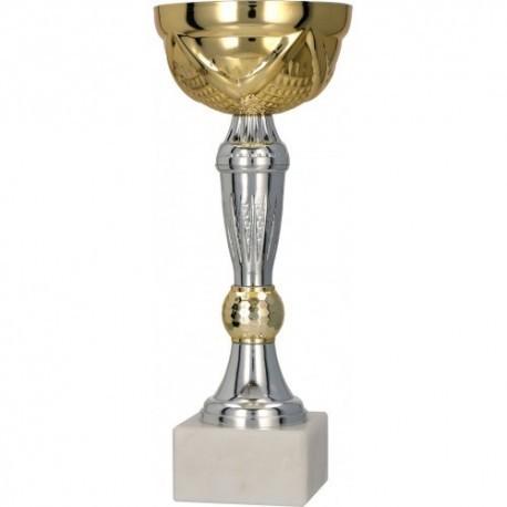 Puchar metalowy złoto-srebrny 9074