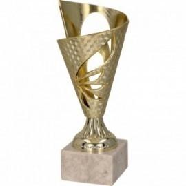 Puchar plastikowy złoty 9075