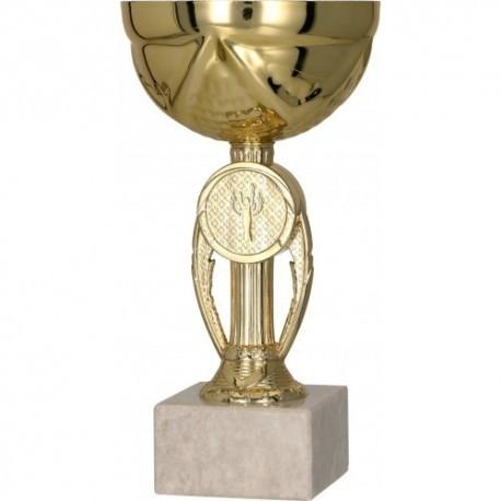 Puchar metalowy złoty 9077