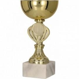 Puchar metalowy złoty 9079