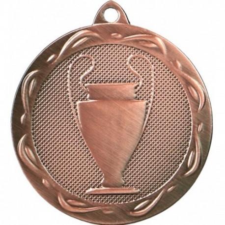 Medal ogólny z miejscem na emblemat 25 mm - medal stalowy MMC1032